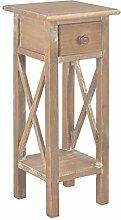 vidaXL Bois Table d'Appoint Meuble de