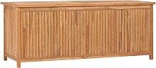 vidaXL Boîte de rangement de jardin 150x50x58 cm