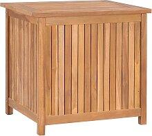 vidaXL Boîte de rangement de jardin 60x50x58 cm