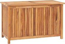 vidaXL Boîte de rangement de jardin 90x50x58 cm