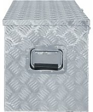 Vidaxl boîte en aluminium 110,5 x 38,5 x 40 cm