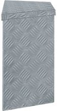 Vidaxl boîte en aluminium 70 x 24 x 42 cm