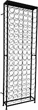 vidaXL Casier à bouteilles pour 108 bouteilles