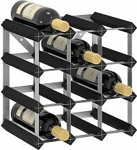 vidaXL Casier à bouteilles pour 12 bouteilles