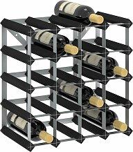 vidaXL Casier à bouteilles pour 20 bouteilles