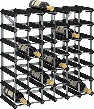 vidaXL Casier à bouteilles pour 42 bouteilles