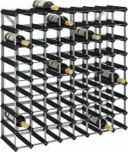 vidaXL Casier à bouteilles pour 72 bouteilles