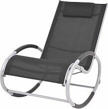 Vidaxl - Chaise à Bascule d'Extérieur