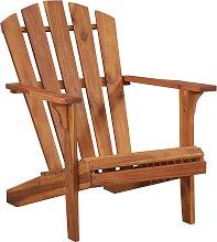 vidaXL Chaise de jardin Adirondack Bois