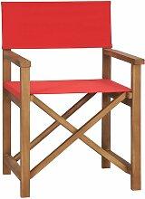 Vidaxl - Chaise de Metteur en Scène Bois de Teck