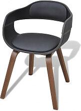 vidaXL Chaise de salle à manger Bois courbé et