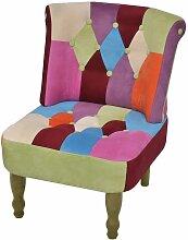 Vidaxl - Chaise en Style Français avec Design de