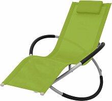 Vidaxl - Chaise longue géométrique