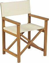 Vidaxl - Chaise pliable de metteur en scène Bois