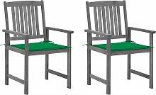 Vidaxl - Chaises de metteur en scène avec