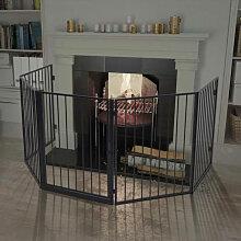 vidaXL Clôture de cheminée pour animaux de