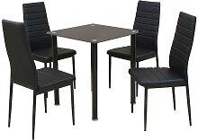 vidaXL Ensemble table et chaise de salle à manger