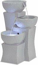 vidaXL Fontaine d'Intérieur avec Lampe LED