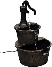 vidaXL Fontaine Design de Pompe de Puits