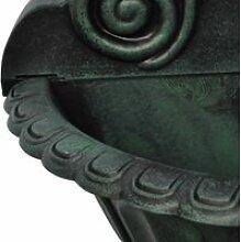 Vidaxl fontaine murale design de tête de lion