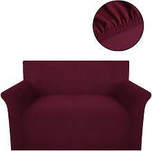 vidaXL housse de canapé tissu tricoté en