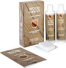 vidaXL Kit d'entretien du bois CARE KIT 2x250
