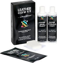 vidaXL Kit d'entretien du cuir CARE KIT 2x250