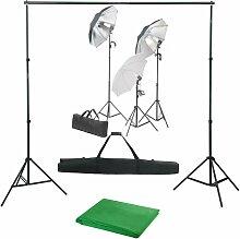 Vidaxl - Kit de studio photo avec ensemble