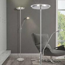 vidaXL Lampadaire à LED à éclairage réglable