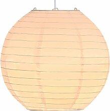 Vidaxl - Lampe suspendue Blanc Ø30 cm E27