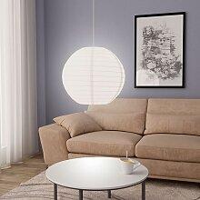 Vidaxl - Lampe suspendue Blanc Ø60 cm E27