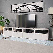 vidaXL Meuble TV 2 pcs Aggloméré 95 x 35 x 36 cm