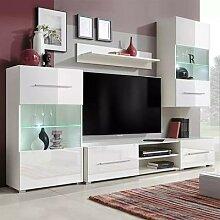 VidaXL meuble TV moderne meubles de salon Design 5