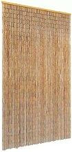 VidaXL Moustiquaire Rideau De Porte En Bambou
