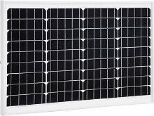 vidaXL Panneau solaire 40 W Monocristallin