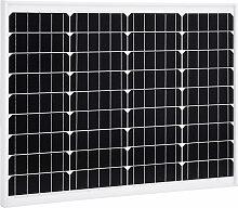 vidaXL Panneau solaire 50 W Monocristallin