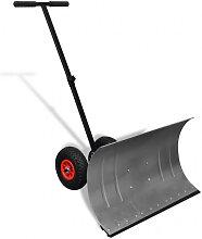 vidaXL Pelle à neige manuelle avec roues