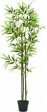 vidaXL Plante artificielle avec pot Bambou 150 cm