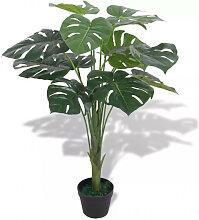 vidaXL Plante artificielle avec pot Monstera 70 cm