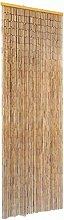 vidaXL Rideau de Porte Contre Insectes Bambou
