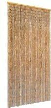 Vidaxl rideau de porte contre insectes bambou 90 x
