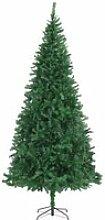 vidaXL Sapin de Noël artificiel 300 cm Vert