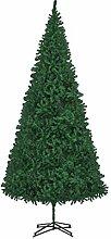 vidaXL Sapin de Noël artificiel 500 cm Ver