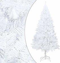 VidaXL Sapin de Noël artificiel avec branches