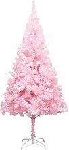 VidaXL Sapin de Noël artificiel avec support Rose