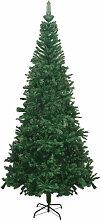 vidaXL Sapin de Noël artificiel L 240 cm Vert