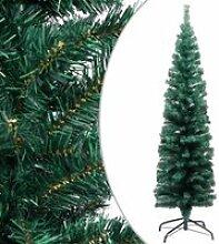 vidaXL Sapin de Noël artificiel mince avec