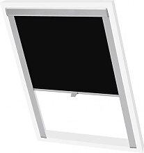 vidaXL Store enrouleur occultant Noir M08/308