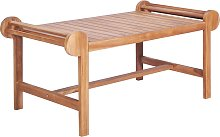 vidaXL Table basse 100x50x45 cm Teck solide