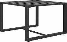 vidaXL Table basse Aluminium Anthracite